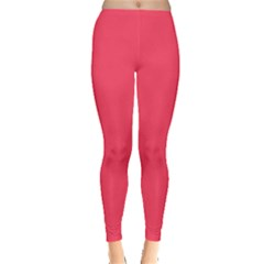 Lovely Pink Colour Leggings  by artpics