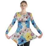 Flora-01 - Long Sleeve Tunic