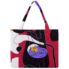 Love Mini Tote Bag by Valentinaart