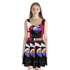 Love Split Back Mini Dress  by Valentinaart