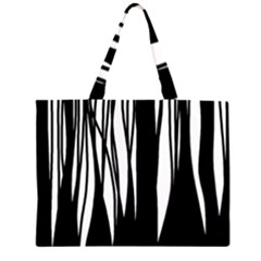 Black forest Large Tote Bag by Valentinaart