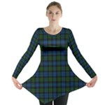Muir Tartan Long Sleeve Tunic - Long Sleeve Tunic