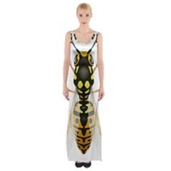 Wasp Maxi Thigh Split Dress by Zeze