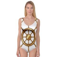 Boat Wheel Transparent Clip Art Princess Tank Leotard  by Zeze