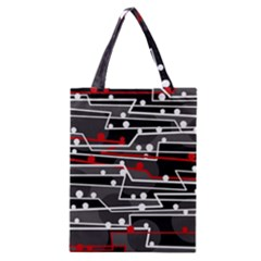 Stay In Line Classic Tote Bag by Valentinaart