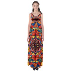 Aplomb - Empire Waist Maxi Dress by tealswan