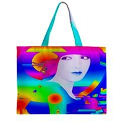 Abstract Color Dream Mini Tote Bag by icarusismartdesigns