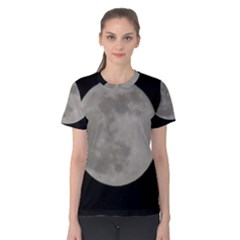 Close To The Full Moon Women s Cotton Tee by picsaspassion