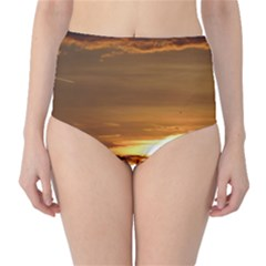 Summer Sunset High Waist Bikini Bottoms by picsaspassion