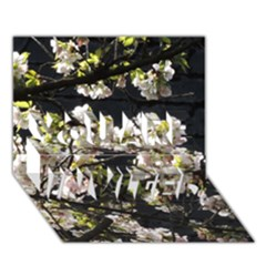 Blooming Japanese Cherry Flowers You Are Invited 3d Greeting Card (7x5) by picsaspassion