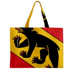 Flag Of Canton Of Bern Zipper Mini Tote Bag by abbeyz71