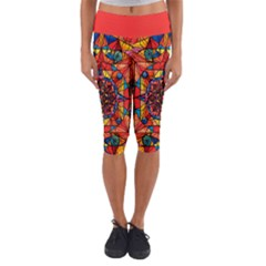 Aplomb - Capri Yoga Leggings by tealswan
