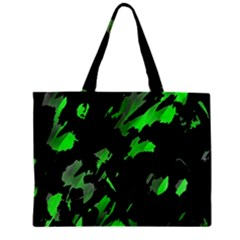 Painter was here - green Zipper Mini Tote Bag by Valentinaart