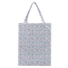 Intricate Floral Collage  Classic Tote Bag by dflcprintsclothing