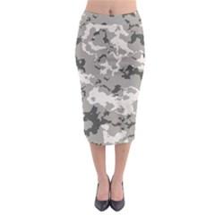 Winter Camouflage Midi Pencil Skirt by RespawnLARPer