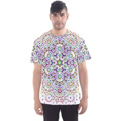The Flower Of Life Men s Sport Mesh Tee