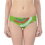 Green Organic Abstract Hipster Bikini Bottoms