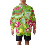 Green Organic Abstract Wind Breaker (Kids)