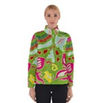 Green Organic Abstract Winter Jacket