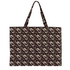 African Ethnic Patterns Large Tote Bag by Zeze