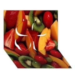 Fruit Salad Clover 3d Greeting Card (7x5) by AnjaniArt