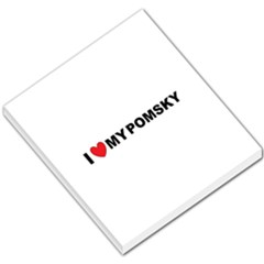 Pomsky Love Small Memo Pads by TailWags