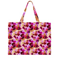 Fuchsia Flowered Large Tote Bag by KirstenStar