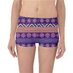 Colorful Tribal Pattern Boyleg Bikini Bottoms