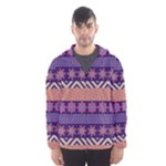 Colorful Winter Pattern Hooded Wind Breaker (Men)