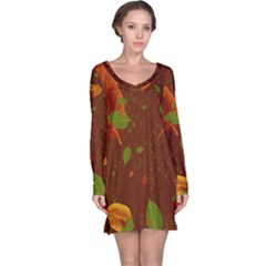 Autumn 01 Long Sleeve Nightdress by MoreColorsinLife