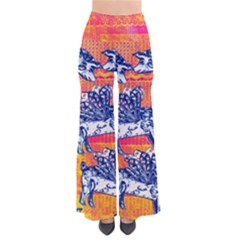 Little Flying Pigs Women s Chic Palazzo Pants  by DanaeStudio