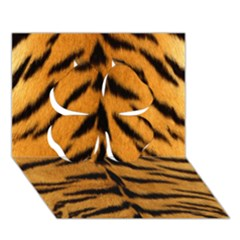 Tiger Skin Clover 3d Greeting Card (7x5) by AnjaniArt