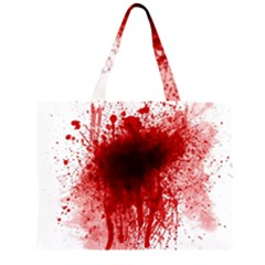 Gunshot Wound Large Tote Bag by TailWags