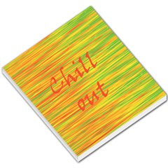 Chill Out Small Memo Pads by Valentinaart