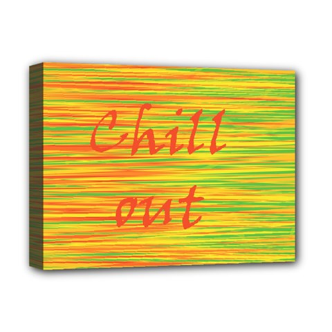 Chill Out Deluxe Canvas 16  X 12   by Valentinaart