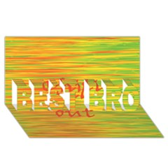 Chill Out Best Bro 3d Greeting Card (8x4) by Valentinaart