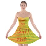 Chill out Strapless Bra Top Dress