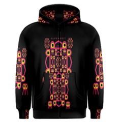 Alphabet Shirt Men s Zipper Hoodie by MRTACPANS