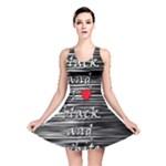 I love black and white 2 Reversible Skater Dress