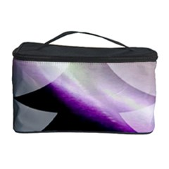 Purple Christmas Tree Cosmetic Storage Case by yoursparklingshop