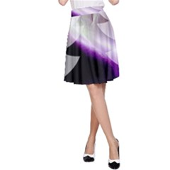 Purple Christmas Tree A Line Skirt by yoursparklingshop
