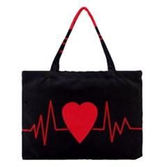 Hart Bit Medium Tote Bag by Valentinaart