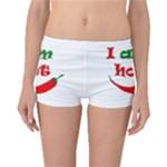 I am hot  Reversible Boyleg Bikini Bottoms