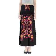 Alphabet Shirt Maxi Skirts by MRTACPANS