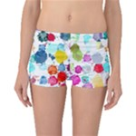 Colorful Diamonds Dream Boyleg Bikini Bottoms