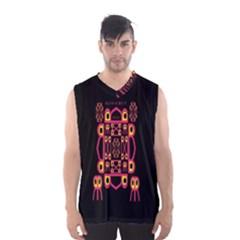 Alphabet Shirt Men s Basketball Tank Top by MRTACPANS