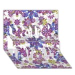 Stylized Floral Ornate Pattern You Did It 3D Greeting Card (7x5)