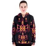 Alphabet Shirt R N R Women s Zipper Hoodie