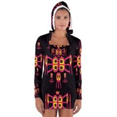 Alphabet Shirt R N R Women s Long Sleeve Hooded T Shirt by MRTACPANS