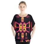 Alphabet Shirt R N R Blouse
